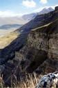 Обрыв перед горой Тузлук