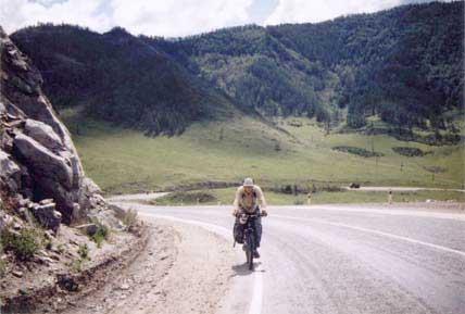Фото 5. Подъем на перевал Чикетаман