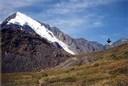 Фото 22. Пик Ак-Оюк и седло перевала Рига-Турист