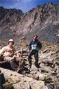 Фото 24. Седло перевала Рига-Турист с юго-запада