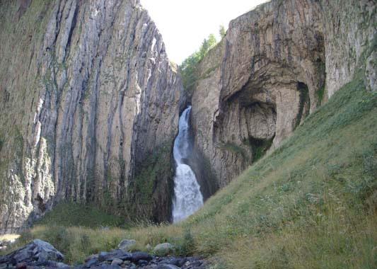 Фото 17. Водопад на р.Каракаясу
