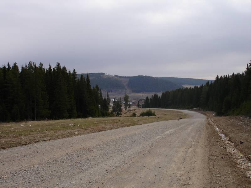 Фото 24. Въезд в посёлок Сарана