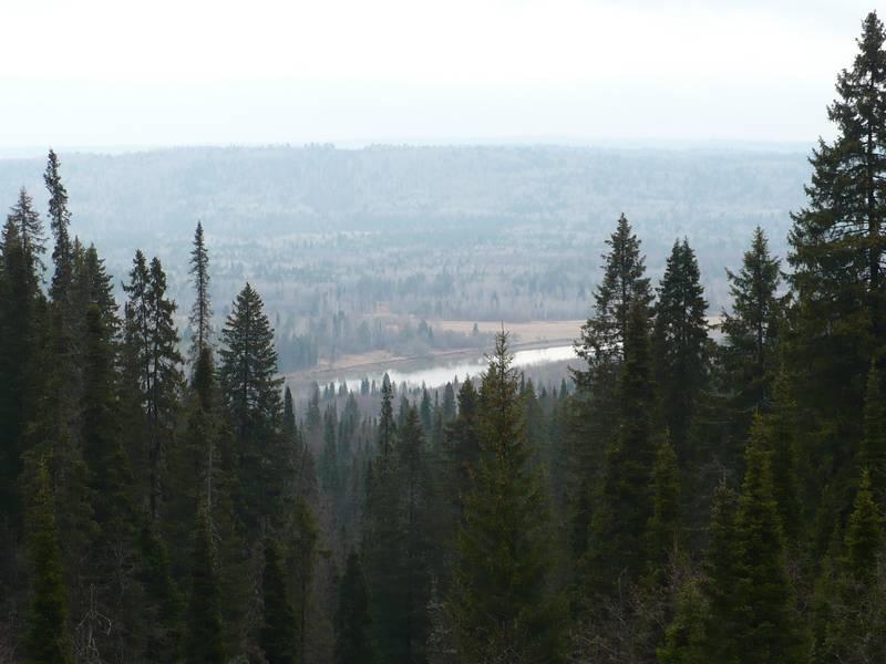 Фото 29. Вид на долину Уфы
