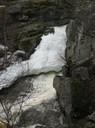 11. Нижняя семиметровая ступень водопада
